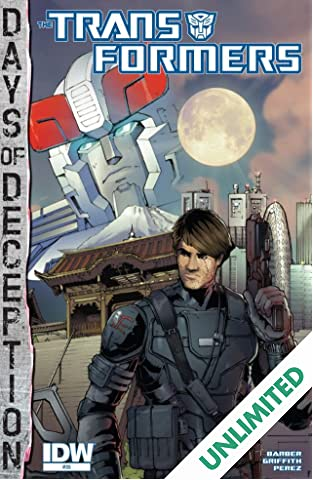 Transformers (2011-) #35: Days of Deception