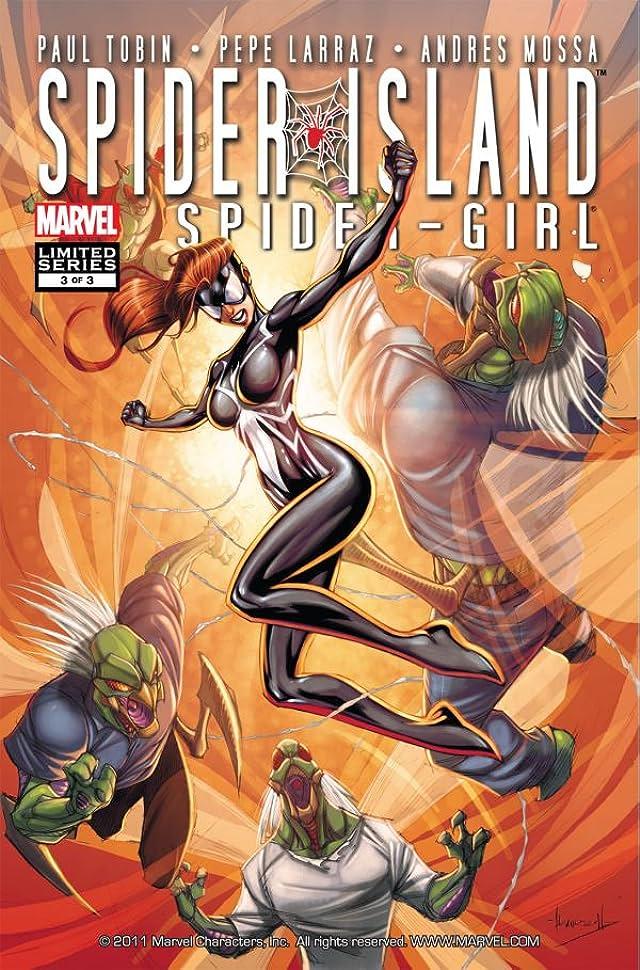 Spider-Island: Amazing Spider-Girl #3