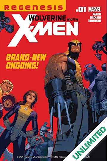 Wolverine and the X-Men #1