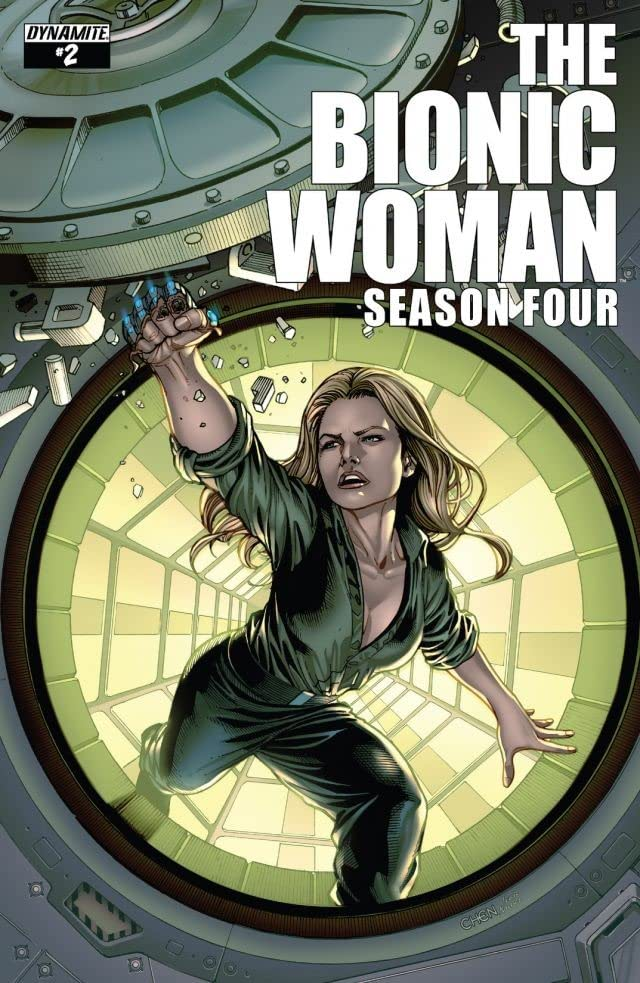 The Bionic Woman: Season Four #2: Digital Exclusive Edition