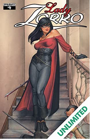 Lady Zorro #4 (of 4): Digital Exclusive Edition