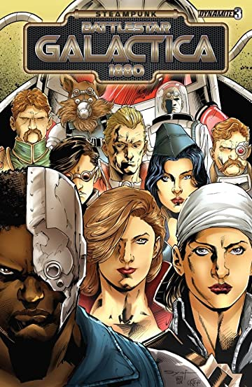 Steampunk Battlestar Galactica 1880 #3 (of 4): Digital Exclusive Edition