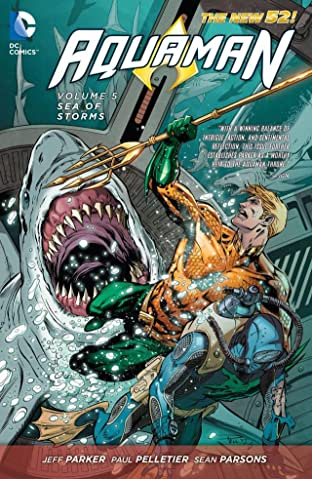 Aquaman (2011-) Vol. 5: Sea of Storms