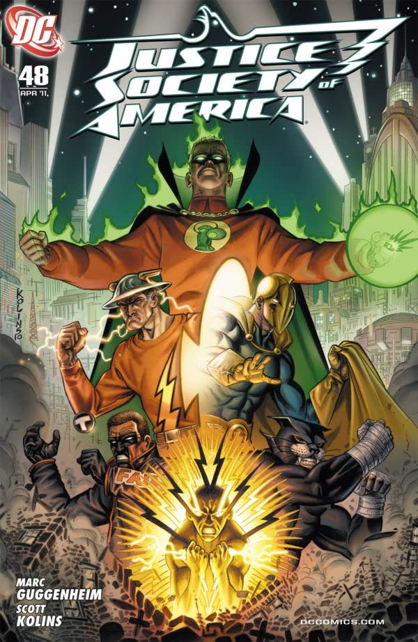 Justice Society of America (2007-2011) #48