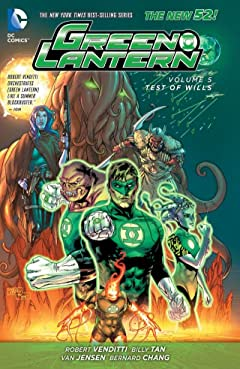 Green Lantern (2011-2016) Tome 5: Test of Wills