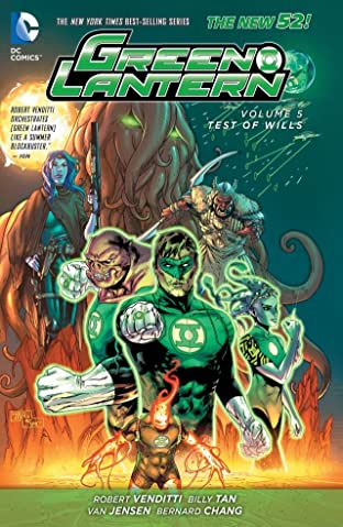Green Lantern (2011-2016) Vol. 5: Test of Wills