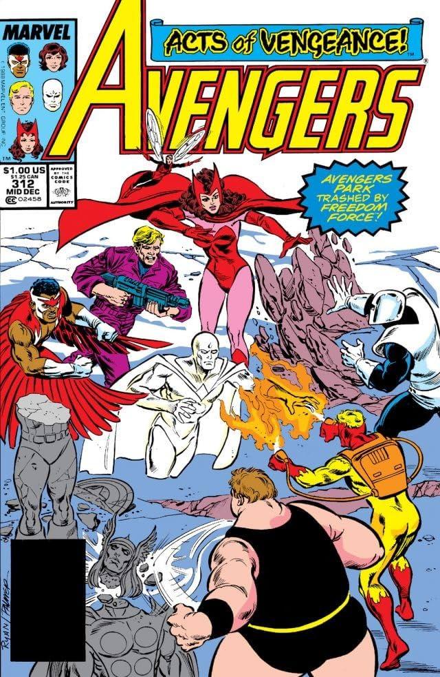 Avengers (1963-1996) #312