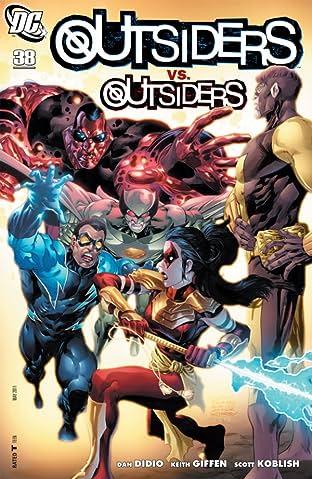 Outsiders (2007-2011) #38