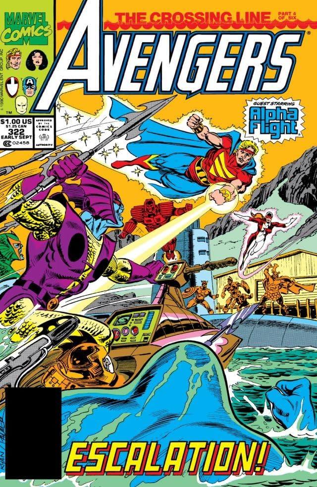 Avengers (1963-1996) #322