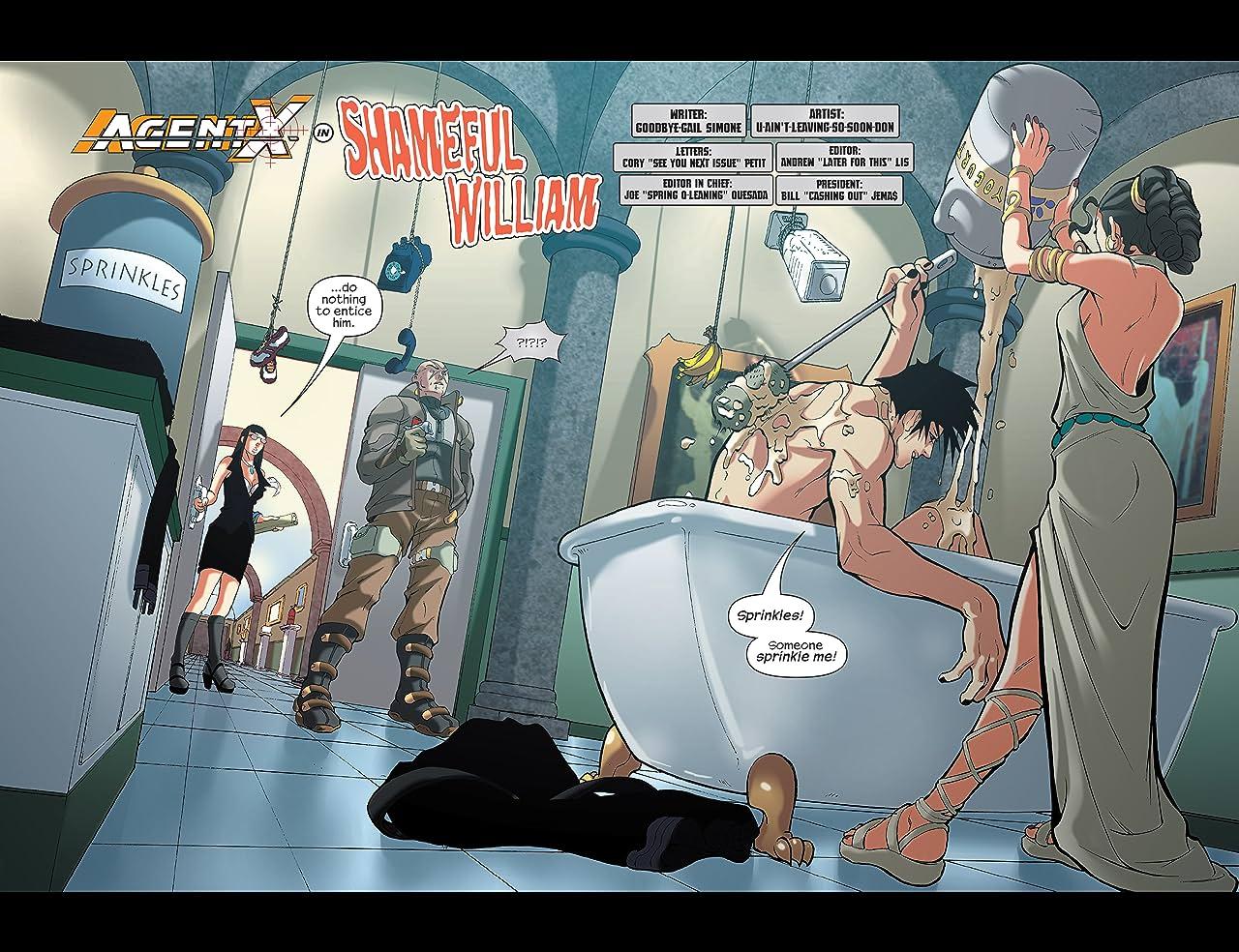 Agent X (2002-2004) #7