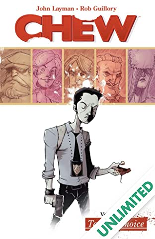 Chew COMIC_VOLUME_ABBREVIATION 1: Taster's Choice