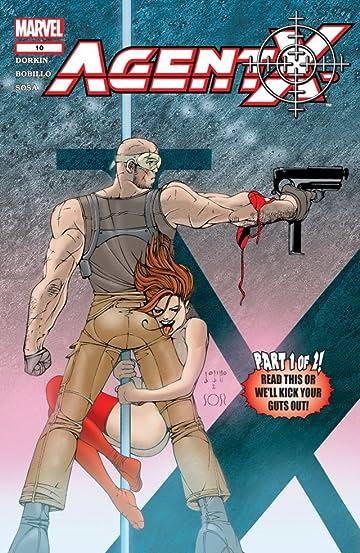 Agent X (2002-2004) #10