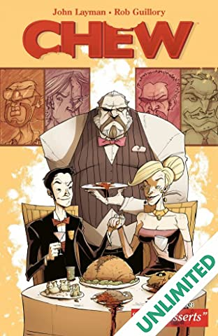 Chew COMIC_VOLUME_ABBREVIATION 3: Just Desserts