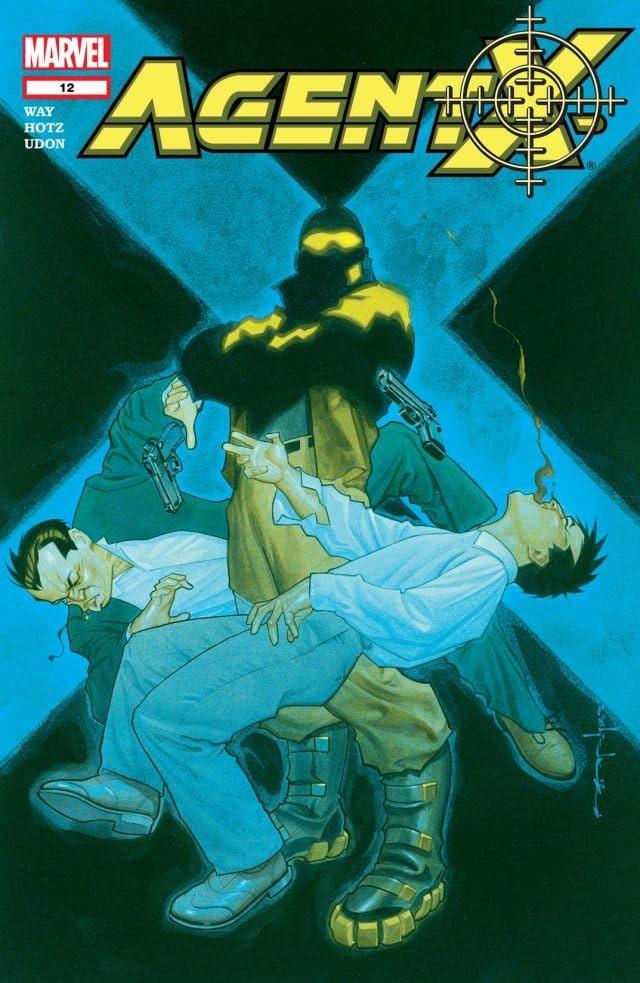 Agent X (2002-2004) No.12