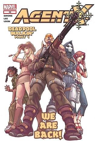 Agent X (2002-2004) #13