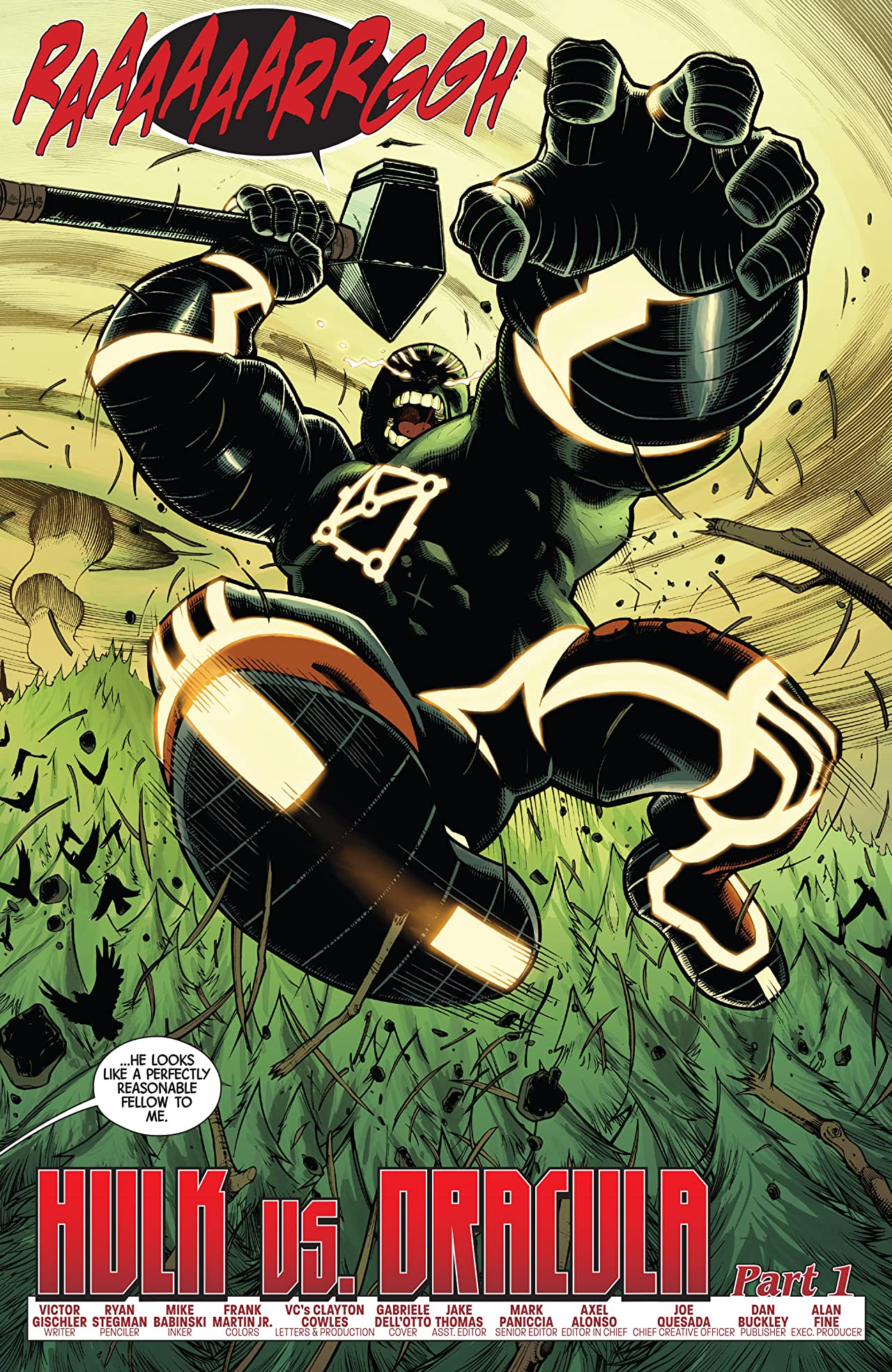 Fear Itself: Hulk vs. Dracula #1 (of 3)