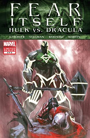 Fear Itself: Hulk vs. Dracula #3 (of 3)