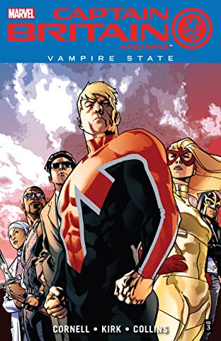 Captain Britain and MI: 13 Tome 3: Vampire State