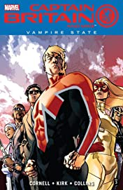 Captain Britain and MI: 13 Vol. 3: Vampire State