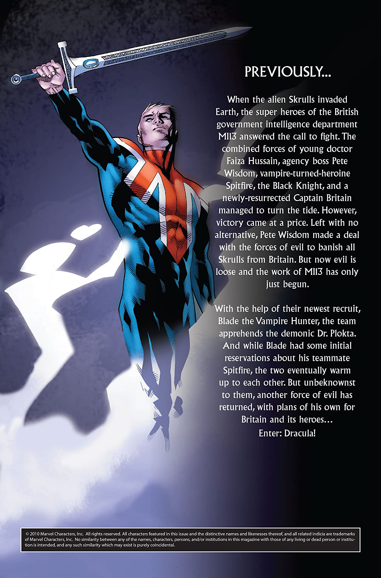 Captain Britain and MI: 13 Vol. 3: Vampire State
