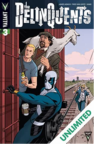 The Delinquents (2014) #3 (of 4): Digital Exclusives Edition