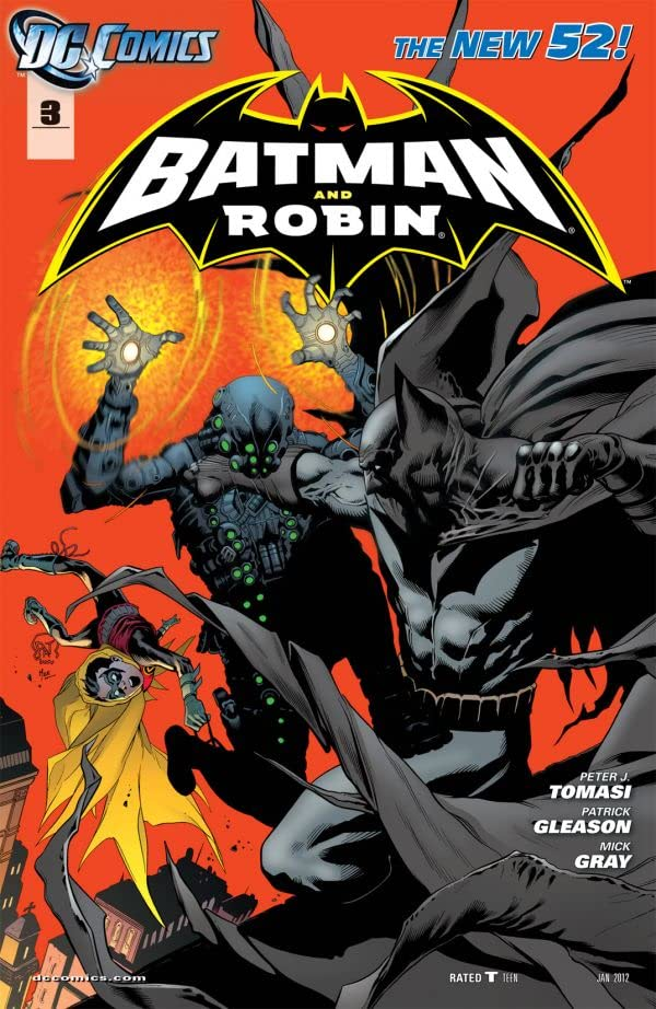 Batman and Robin (2011-2015) #3