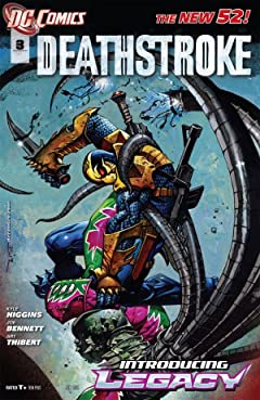 Deathstroke (2011-2013) #3