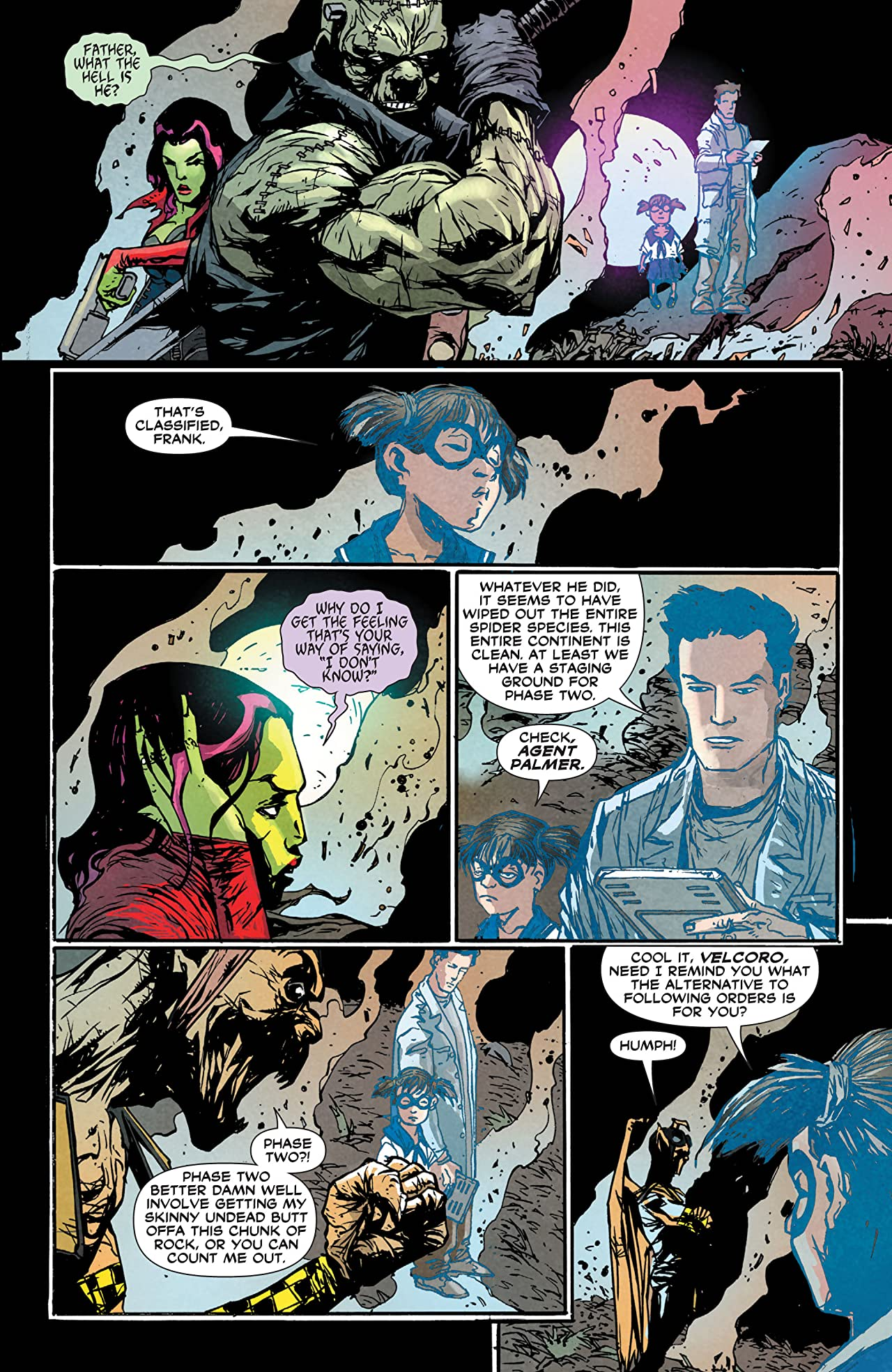 Frankenstein, Agent of SHADE (2011-2013) #3
