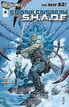 Frankenstein, Agent of SHADE (2011-2013) #3