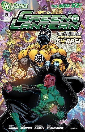 Green Lantern (2011-) #3