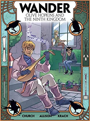Wander: Olive Hopkins and the Ninth Kingdom #4