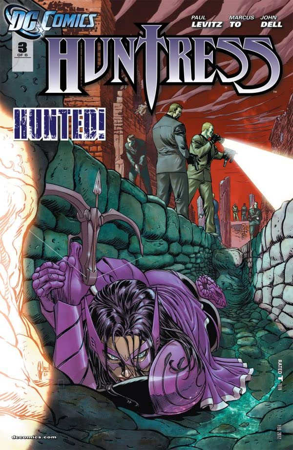 Huntress (2011-2012) #3 (of 6)