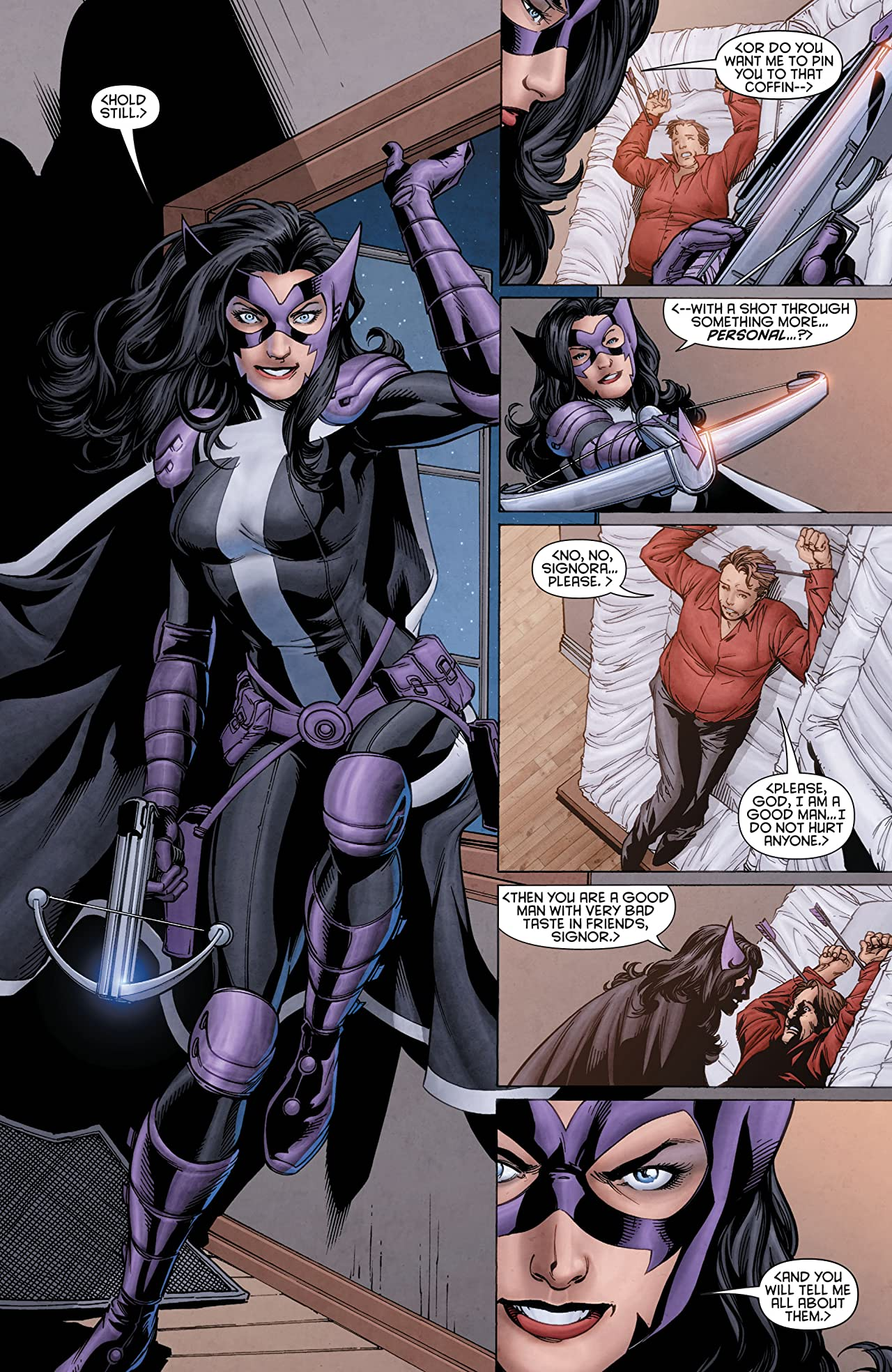 Huntress (2011-2012) #2 (of 6)