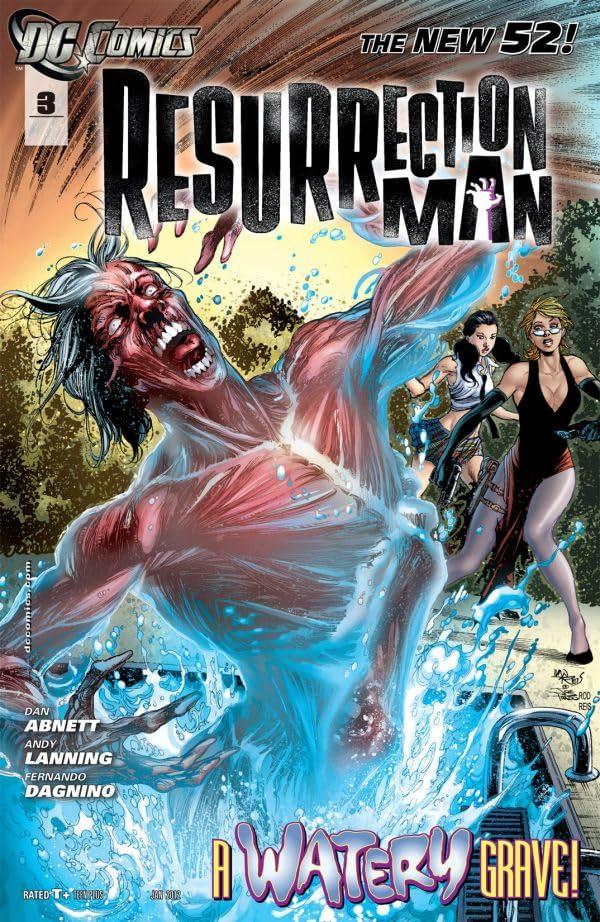 Resurrection Man (2011-2012) #3