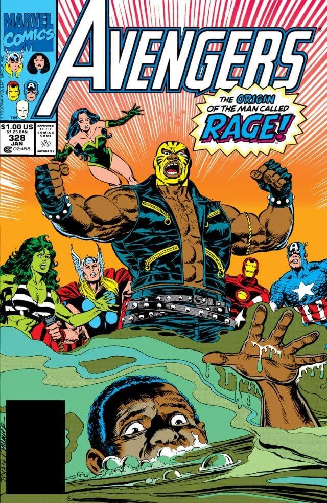 Avengers (1963-1996) #328