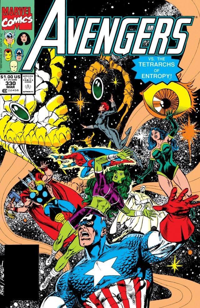 Avengers (1963-1996) #330
