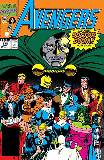 Avengers (1963-1996) #332