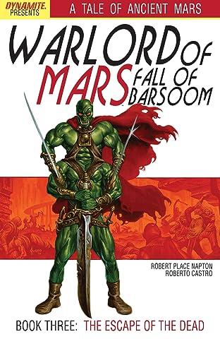 Warlord of Mars: Fall of Barsoom #3 (of 5)