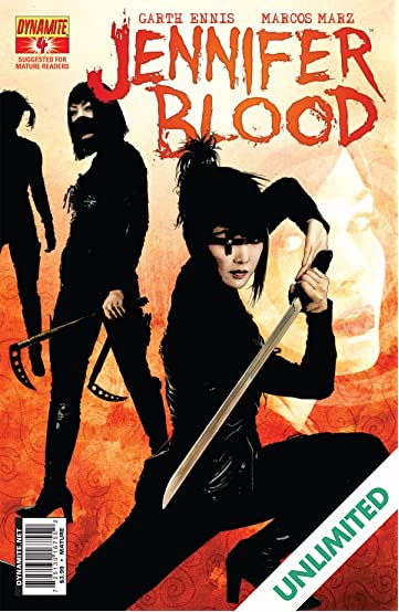 Garth Ennis' Jennifer Blood #4