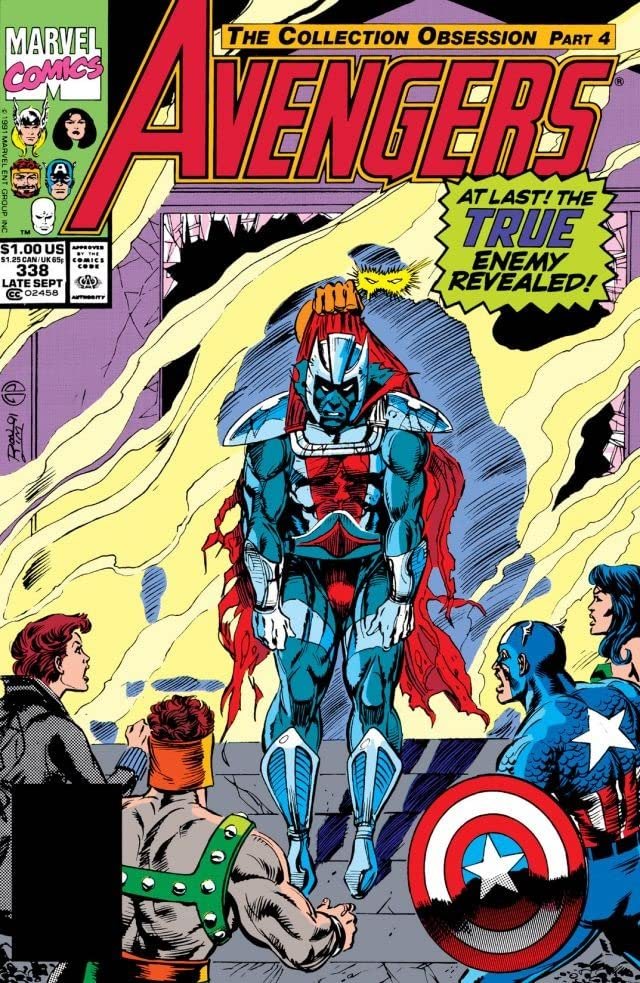Avengers (1963-1996) #338
