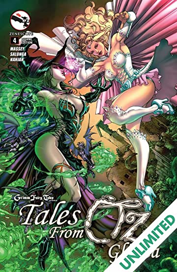 Grimm Fairy Tales: Tales from Oz #4: Glinda