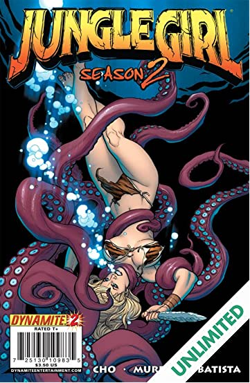 Jungle Girl: Season Two #2 (of 5)