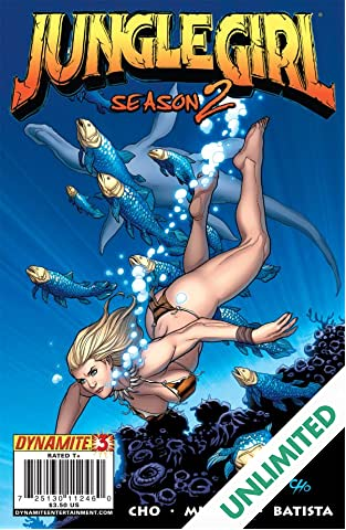 Jungle Girl: Season Two #3 (of 5)