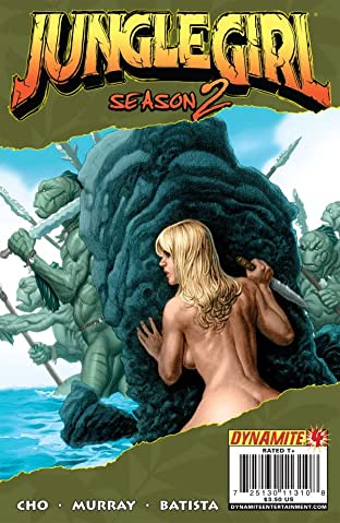 Jungle Girl: Season Two #4 (of 5)