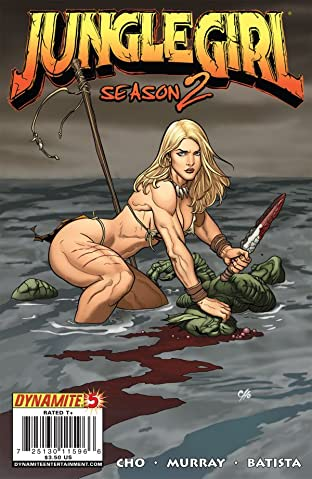 Jungle Girl: Season Two #5 (of 5)