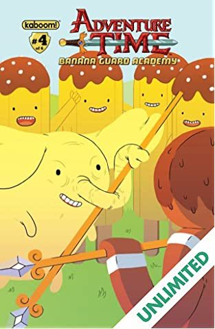 Adventure Time: Banana Guard Academy #4