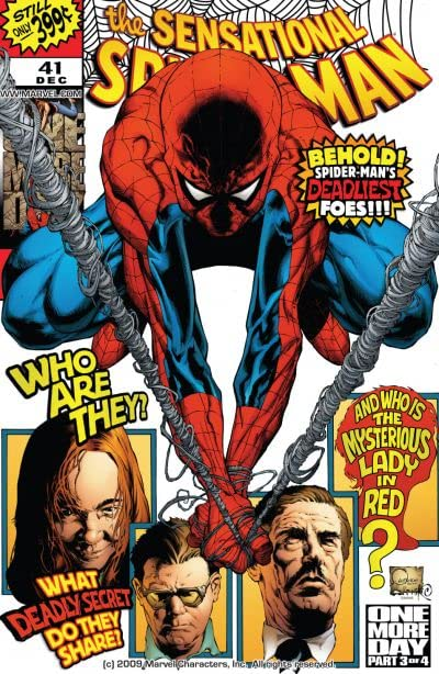 Sensational Spider-Man (2006-2007) #41