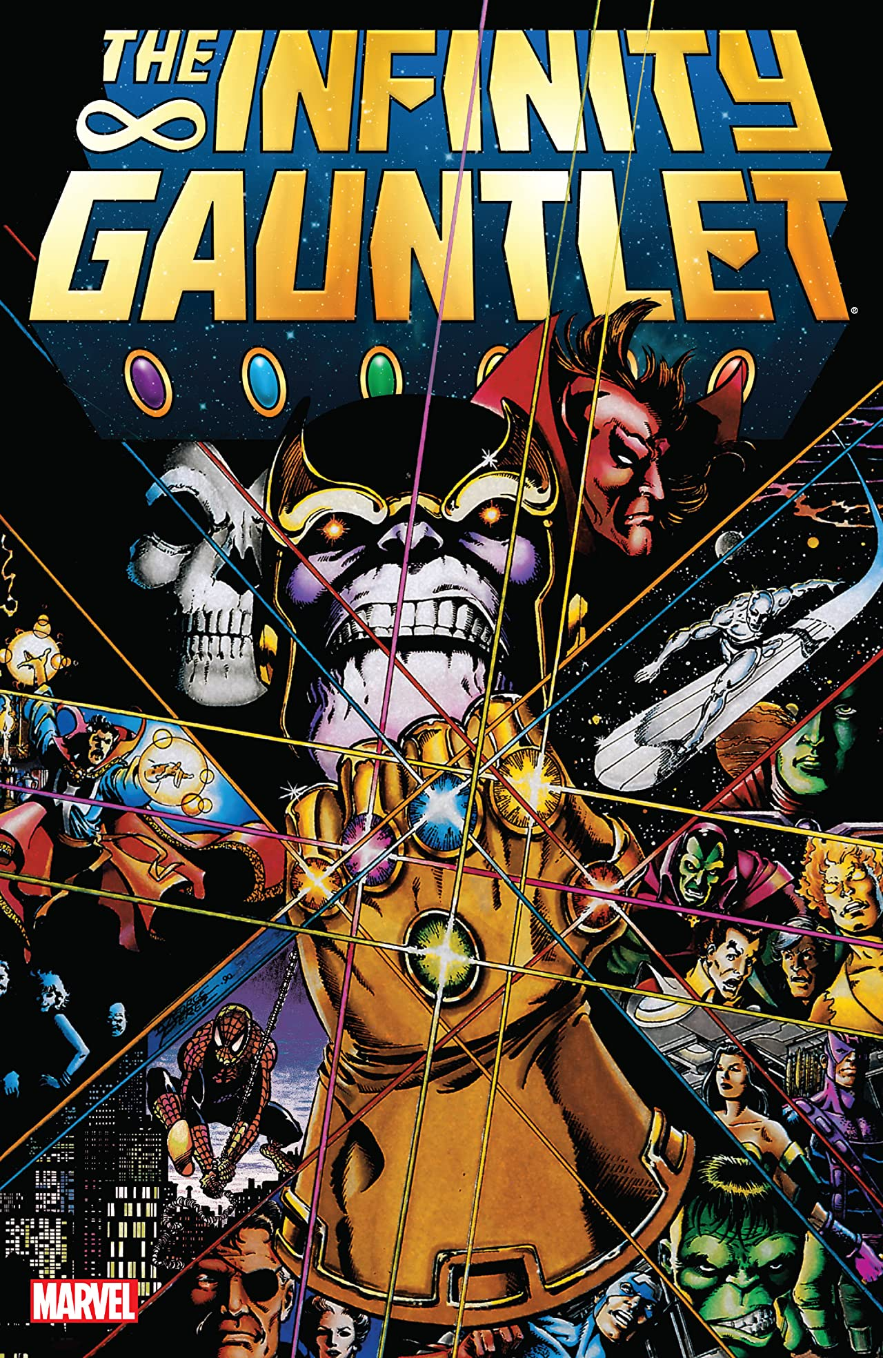 marvel comics infinity
