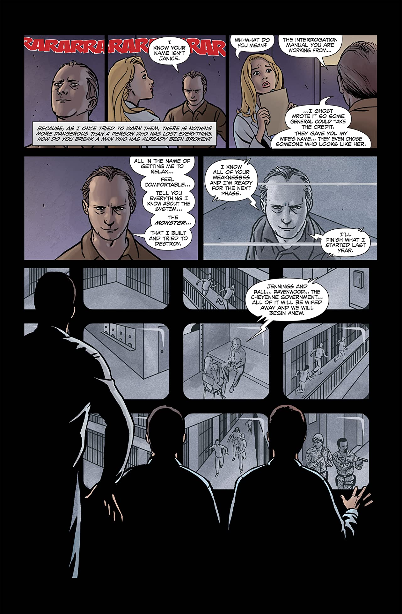 Jericho: Season 3 #4 (of 6)