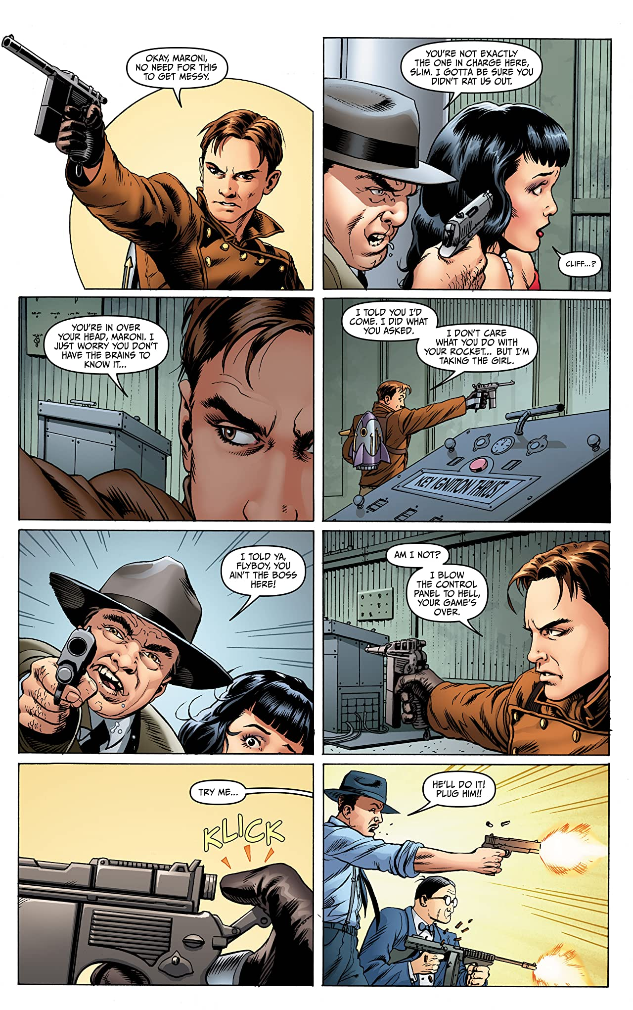 Rocketeer Adventures #1 (of 4)